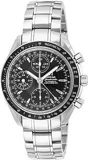 [オメガ] 腕時計 スピードマスターデイデイト ブラック文字盤 自動巻 クロノグラフ 3220.50 並行輸入品 シルバー