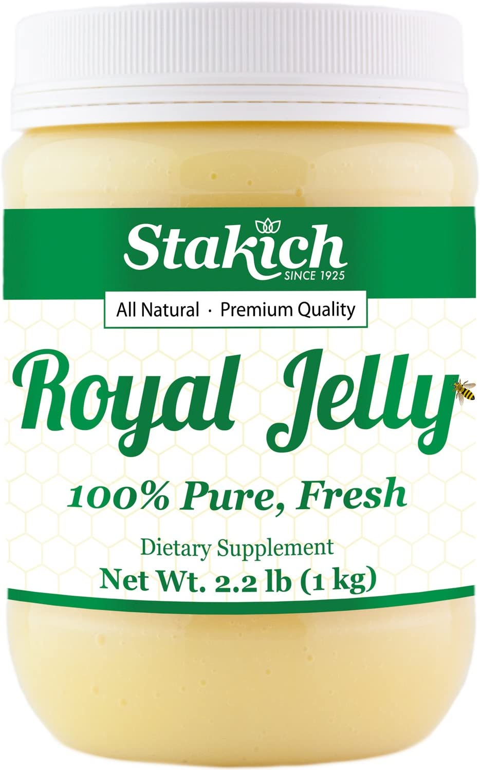 safety Stakich In a popularity Fresh Royal Jelly - Pure All No Fla Additives Natural