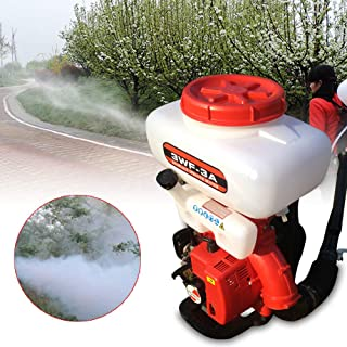 Dyrabrest Agricultural Mist Duster Sprayer,Fogger Mist Blower Gasoline Powered Garden Blower Machine