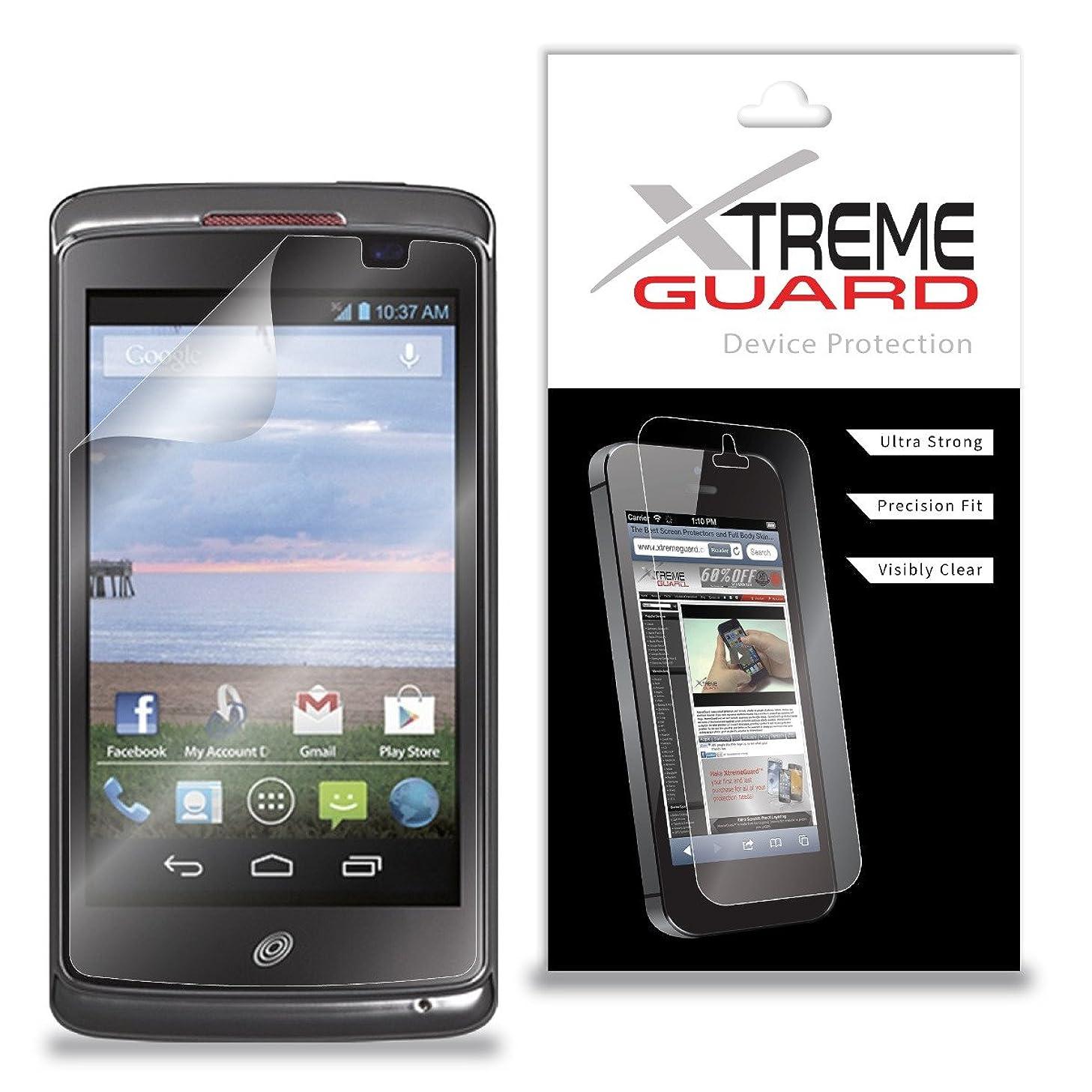 XtremeGuard Screen Protector for Unimax Tracfone MaxPatriot U671C (Ultra Clear)