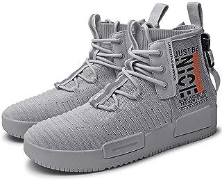 FUSHITON Hombre Zapatos de Moda Zapatillas Casual Calzado Deportivo Zapatillas de Correr Transpirable Cómodo Antideslizante