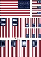 cool american flag tattoos