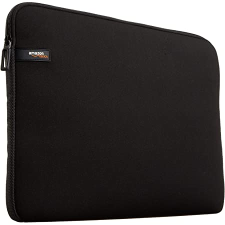 """Amazon Basics NC1303152 - Funda para ordenadores portátiles (13.3""""), color negro"""
