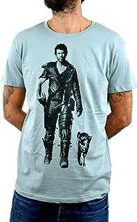 Interceptor Mad MAX Faces T-Shirt Hombre Impresión del Manual de la Pantalla de Agua