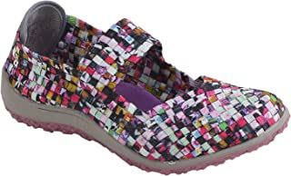 Zee Alexis Women's Sammi Woven Mary Jane Shoe Mosaic Multi 11 M