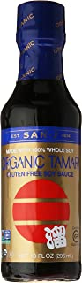 San-J Tamari Soy Sauce, Whole Bean, Wheat Free, 10 oz
