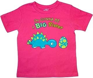 Happy Dinosaur Future Big Sister Toddler T-Shirt