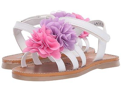 Kid Express Aniyah (Toddler) (White Combo) Girls Shoes