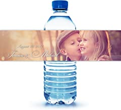 water bottle labels with photo