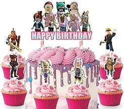 Pink Tuxedo Roblox Amazon Com Roblox Cake Topper
