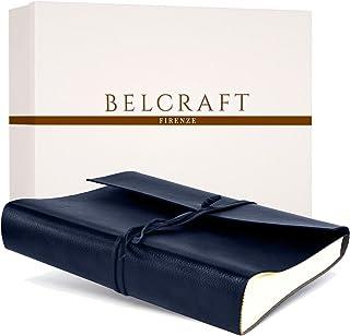 Tivoli Album Fotografico in Pelle Riciclata, Album Portafoto, Scrapbook, Realizzato a Mano da Artigiani Toscani, Include S...