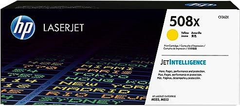 HP 508X - Cartucho de tóner original LaserJet de alta capacidad para Laserjet Enterprise series M552, color amarillo