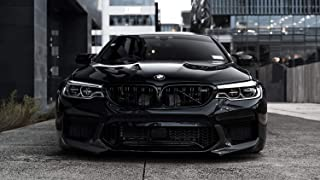 BMW M5 F90 Car Poster Print (24x36 Inches)