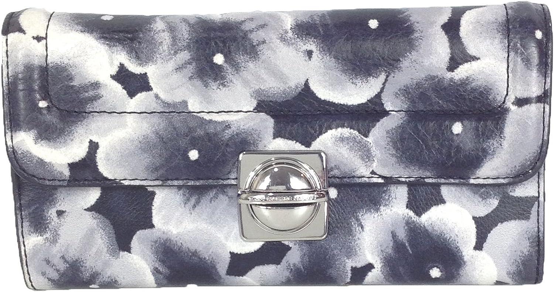 Marc by Marc Jacobs Leather Aki Floral Grace Wallet, Lead Multi