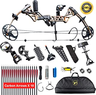 XGeek Compound Bow,with Hunting Accessories,CNC Milling Bow Riser,USA Gordon Composites Limb,BCY String,19