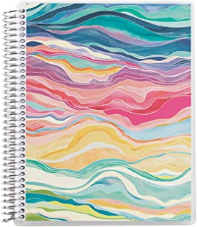 """7"""" x 9"""" Spiral Bound Graph Paper Notebook - Layers. 160 Page Writing, Drawing & Art Grid Ruled Notebook. 80Lb Thick Mohawk..."""