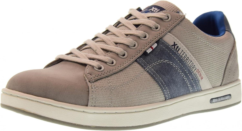XTI skor skor skor män Low skor 47147 grå  det senaste varumärket outlet online