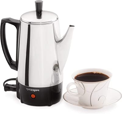 BRT-Style 6-cup stainless steel coffee maker 02822 Model (17420-17242)