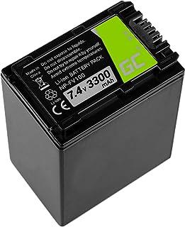Green Cell® Batería para Cámara Sony HDR-XR260VE Full Decoded (Li-Ion Celdas 3300mAh 7.4V)