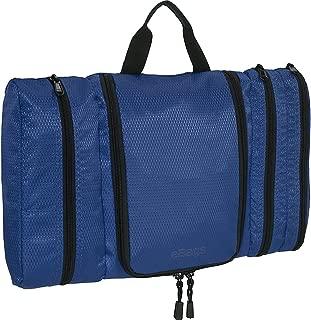 eBags Pack-it-Flat Hanging Toiletry Kit for Travel - (Denim)
