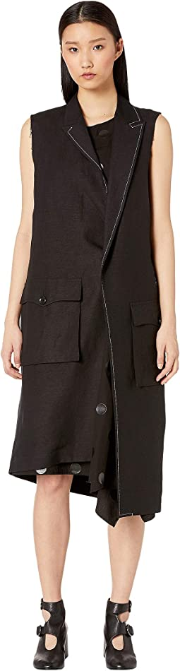 U-2P Asymmetry Tailored Vest
