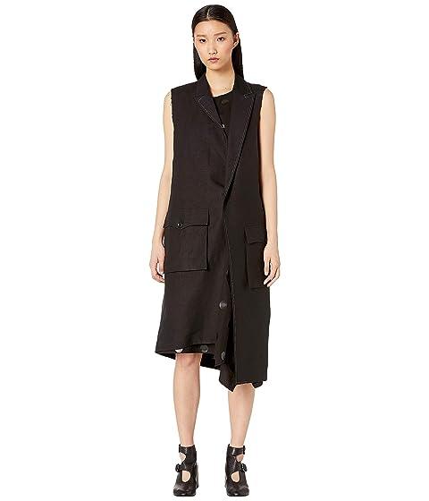 Y's by Yohji Yamamoto U-2P Asymmetry Tailored Vest