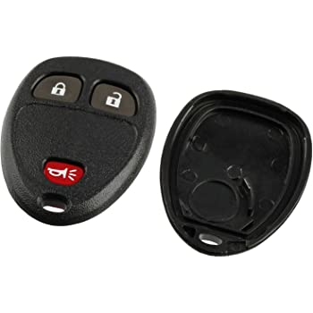 KeyGuardz Keyless Entry Remote Car Key Fob Outer Shell Cover Soft Rubber Protective Case for Chevy GMC 15913420 KeylessOption