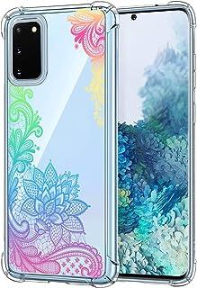 Oihxse Transparante beschermhoes voor Samsung Galaxy J2 PRO/J250G/J2 2018, zachte TPU-siliconen, schokbestendig, krasbeste...