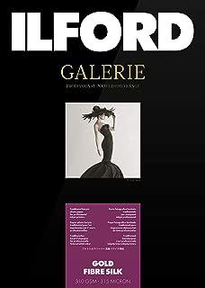 Ilford Galerie Prestige Gold Fibre Silk–Photo Paper, 310g, 50Sheets, A4