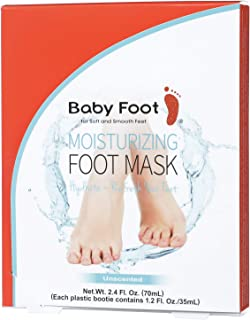 Baby Foot - Moisturizing Foot Mask 2.4 Fl Oz - Unscented Pair