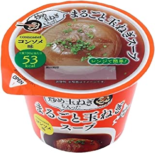 谷尾食糧 まるごと玉ねぎスープ(コンソメ) 190g×12個