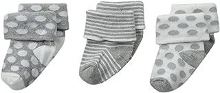 Jefferies Socks Unisex-Baby Newborn Baby Turn Cuff Socks 3 Pair Pack