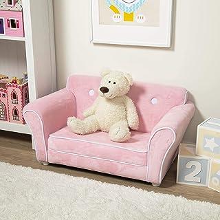Melissa & Doug Child's Sofa - Pink Plush Children's Furniture