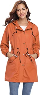New Collection Orange Color Ladies Winter Cotton Coats Women
