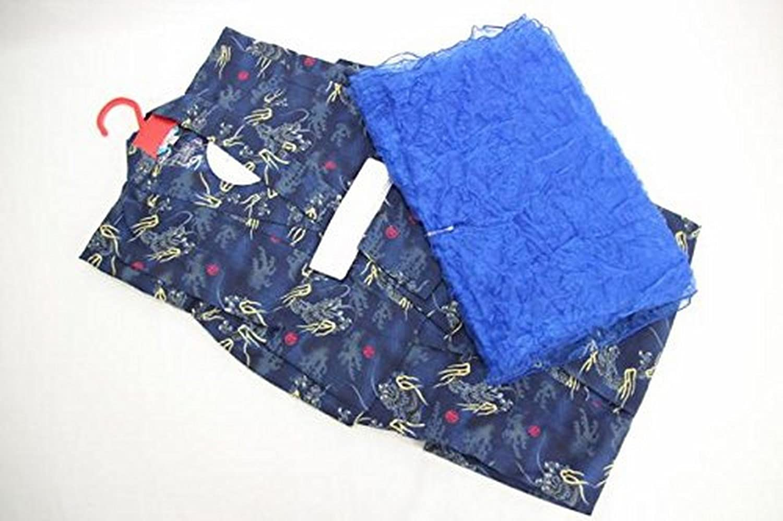 子供浴衣 2点セット 男の子 ゆかた 帯セット kids 浴衣 夏祭り 花火 男児