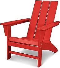 POLYWOOD AD420SR Modern Adirondack Chair, Sunset Red