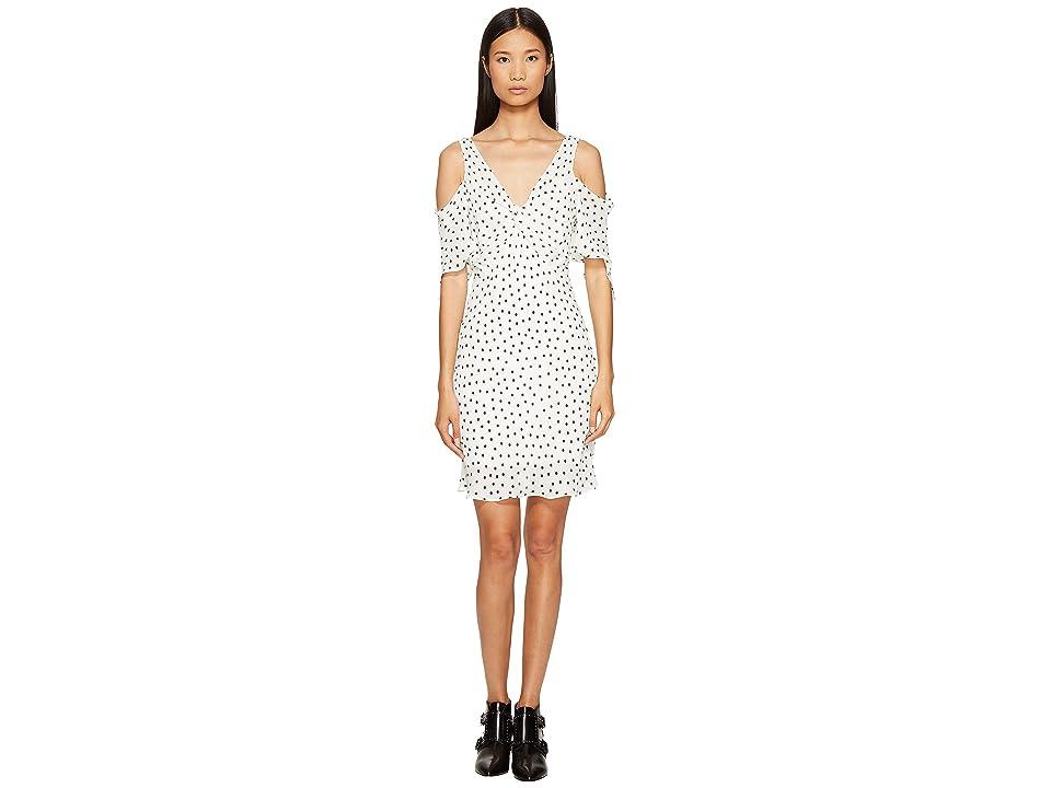 McQ Dropped Shoulder Dress (Ivory) Women