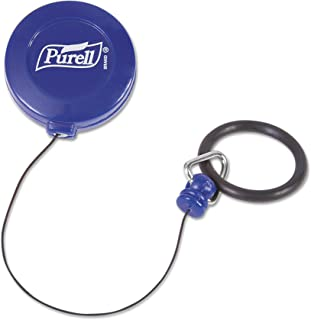 PURELL PERSONAL Gear Retractable Clip, Retractable Bottle Clip for 2 fl oz PURELL Pump or Squeeze Sized Portable Bottles (Case of 24) – 9608-24