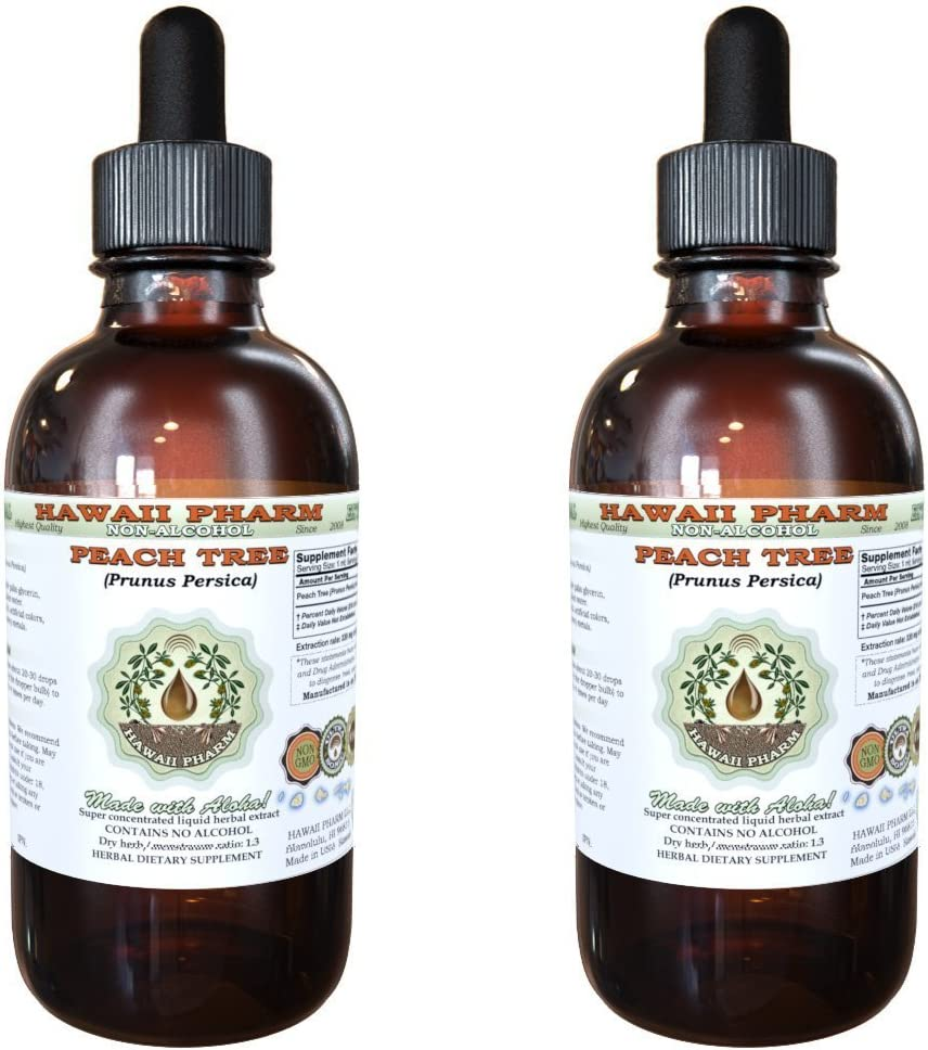 Peach Leaf Raleigh Mall Alcohol-Free Liquid Limited time trial price Extract persi Prunus