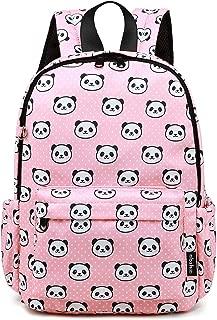 Abshoo Little Kids Panda Toddler Backpacks for Girls Preschool Backpack With Chest Strap (Panda Pink)