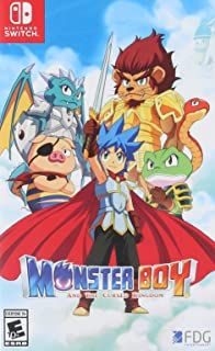 Monster Boy and the Cursed Kingdom - Nintendo Switch - Standard Edition