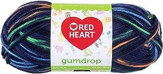 Coats Yarn Red Heart Gumdrop Yarn, Multi-Colour, 18.41 x 7.62 x 7.62 cm