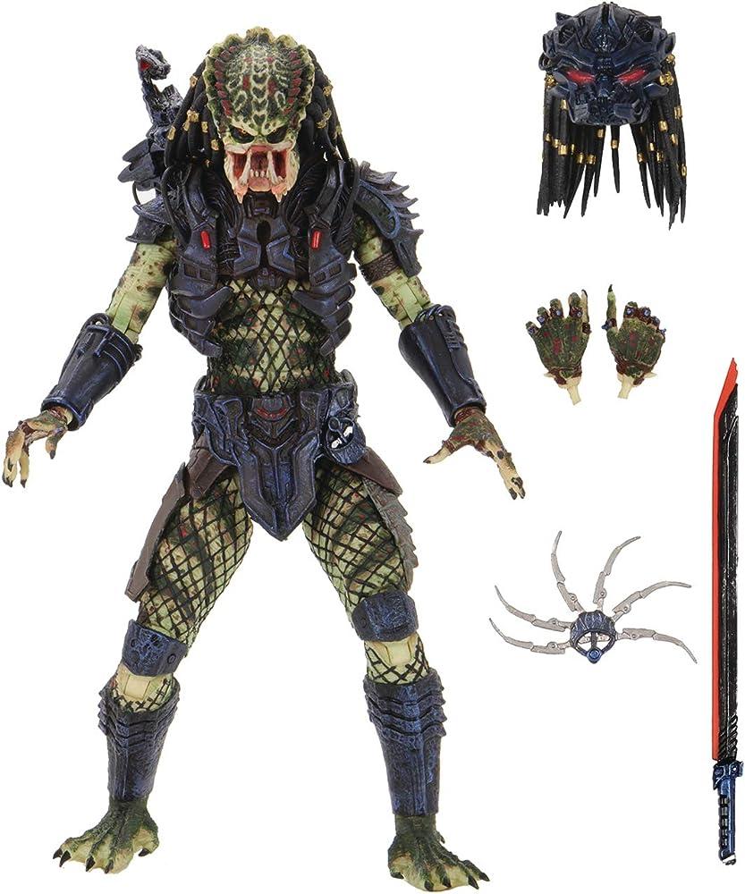 Neca - predator 2 ,  ultimate lost predator  , 20 cm NECA51585
