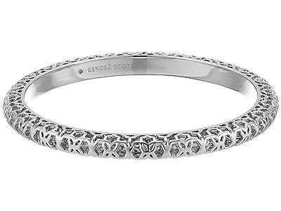 Kendra Scott Maggie Bangle Bracelet (Rhodium Filigree Metal) Bracelet
