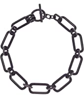 Michael Kors Iconic Pave Link Statement Necklace