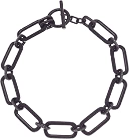 Iconic Pave Link Statement Necklace