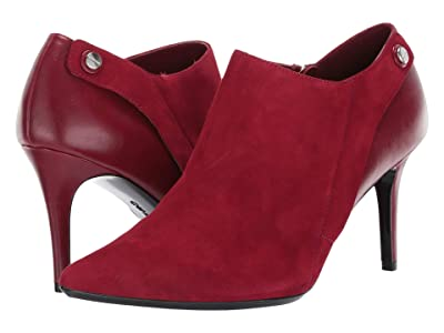 Calvin Klein Gara (Barn Red Suede/Cloe) Women