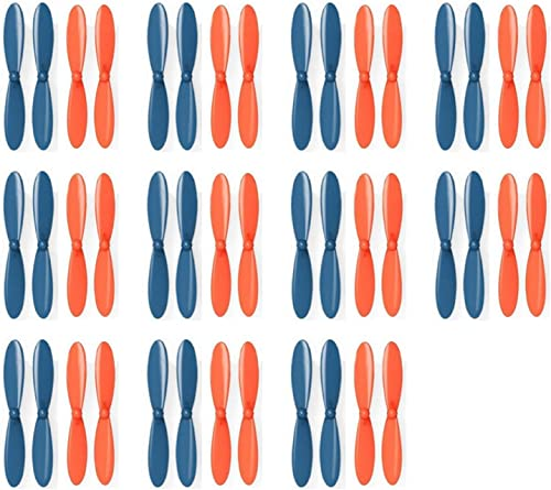 11 x Quantity of Estes Dart Blau Orange Propeller Blades Propellers Props - FAST FREE SHIPPING FROM Orlando, Florida USA