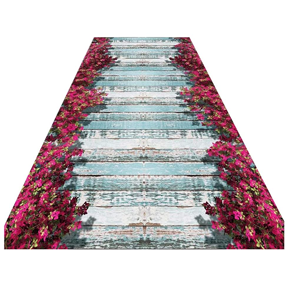 ZEMIN Runner Rugs Hallway Narrow Entryway Non-Skid Carpet Rubber Back Living Dining Room, 2 Colors, Multi-Size Custom (Color : A, Size : 0.6x2m)