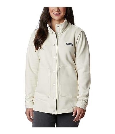 Columbia Hart Mountain Shirt Jacket (Chalk) Women